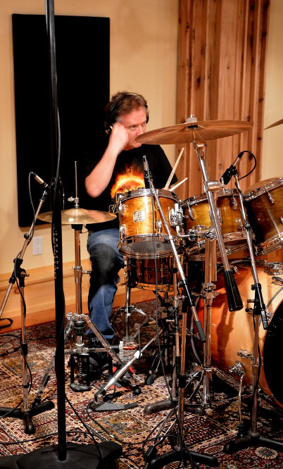 Gil - in session at Acrylic Recording